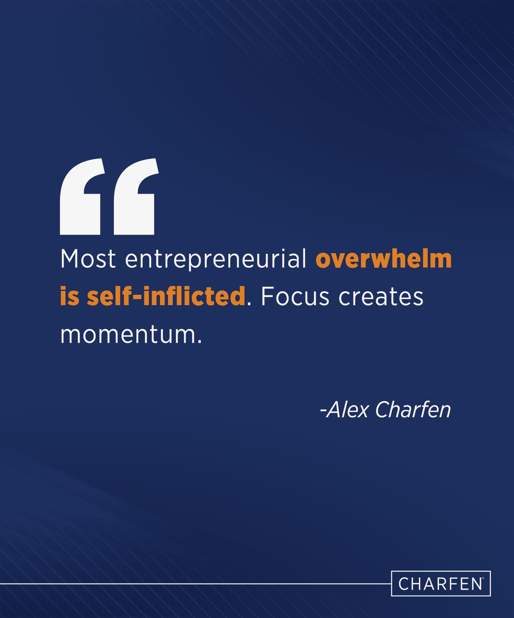 entrepreneurial overwhelm